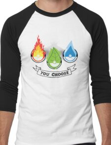 Pokemon - You Choose Men's Baseball ¾ T-Shirt