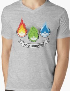 Pokemon - You Choose Mens V-Neck T-Shirt