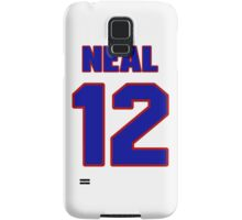 Basketball player Gary Neal jersey 12 Samsung Galaxy Case/Skin
