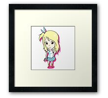 Chibi Lucy Framed Print