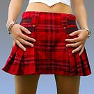 Scottish Mini dress by Bob Martin