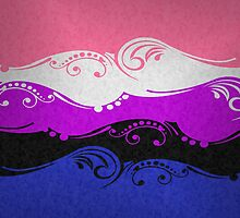 Genderfluid Ornamental Flag by LiveLoudGraphic