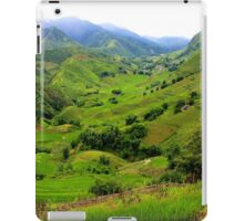 The Green Valley - Sa Pa, Vietnam. iPad Case/Skin