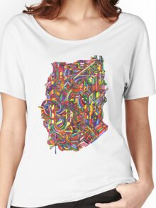 color cluster Women's Relaxed Fit T-Shirt