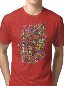 color cluster Tri-blend T-Shirt