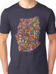 color cluster Unisex T-Shirt