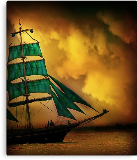 Emerald Sails by Jacky