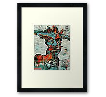 The Fire Genie Framed Print