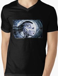 INTERFACE Mens V-Neck T-Shirt