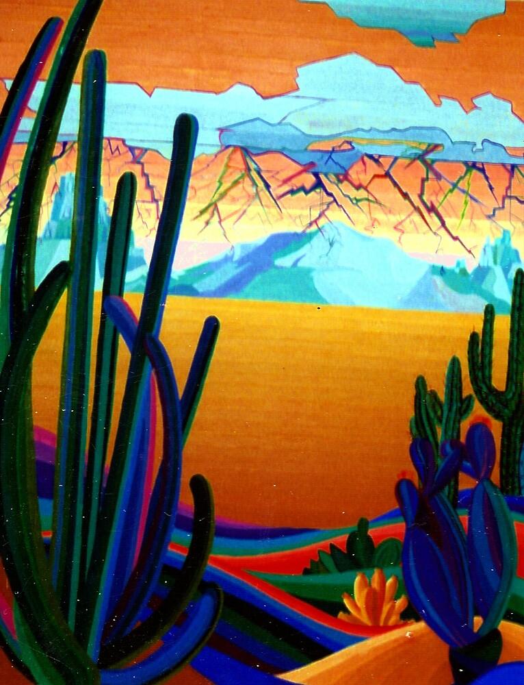 Desert Land of Plenty by Jamie Winter-Schira