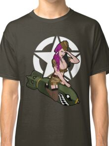 Army Punk Pin Up Classic T-Shirt