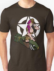Army Punk Pin Up T-Shirt