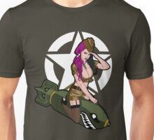 Army Punk Pin Up Unisex T-Shirt