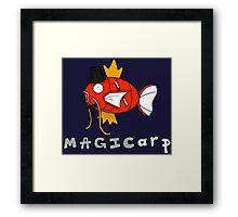 Magikarp the magician Framed Print