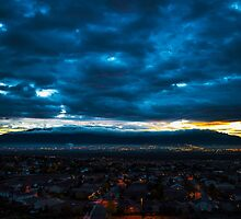 Albuquerque Sunrise by IOBurque