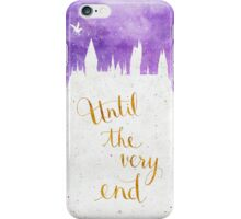 "Harry Potter ""Until the very end"" iPhone Case/Skin"