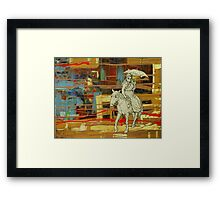 The Southwark Witch Framed Print