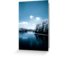 River of Tranquility Greeting Card