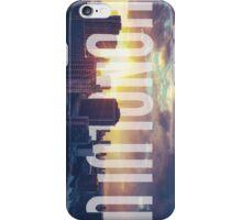 Retro Filtered Honolulu iPhone Case/Skin