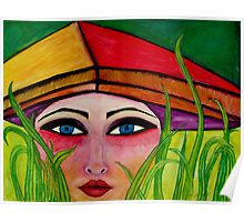 Rice Paddy Girl  Poster