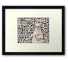 The Libido Zone Framed Print