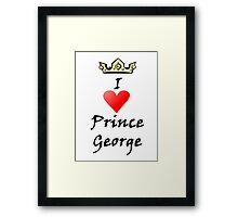 Prince George Framed Print