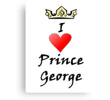 Prince George Canvas Print