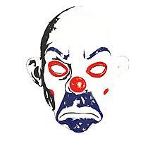 Joker Bank Robber Mask Photographic Print