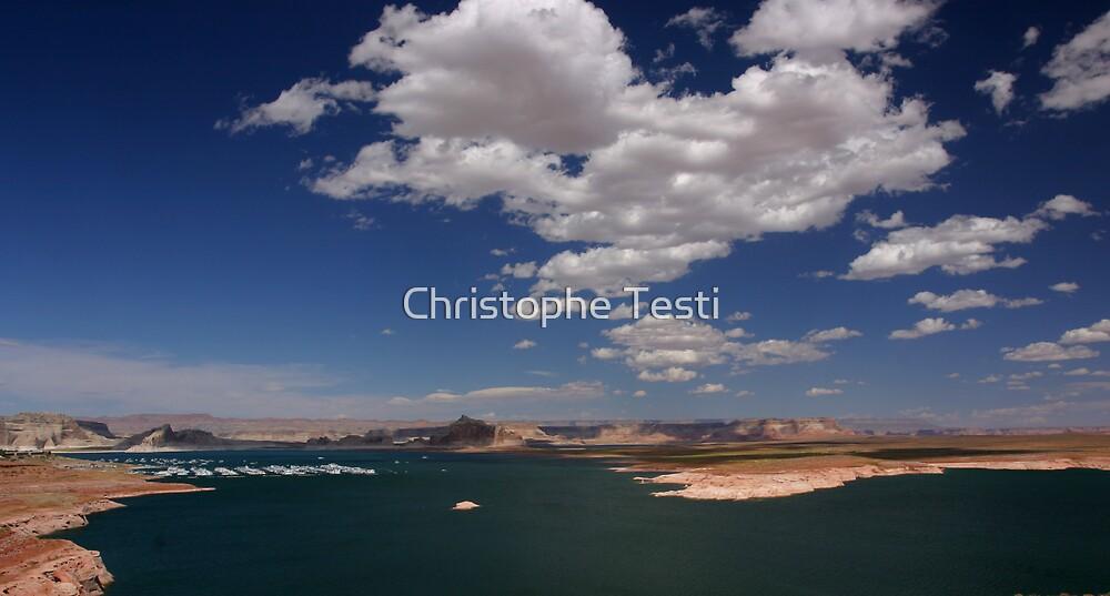 Lake Powell by Christophe Testi
