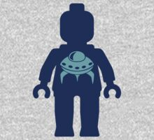 Minifig with UFO Kids Clothes