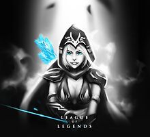 League of Legends - Ashe by leagueofposters