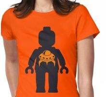 Minifig with UFO  Womens Fitted T-Shirt
