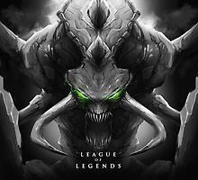 League of Legends - Cho'Gath by leagueofposters