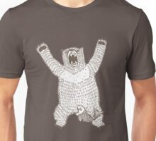 Roaring Bear (Ink) Unisex T-Shirt