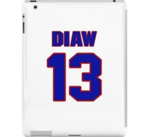 Basketball player Boris Diaw jersey 13 iPad Case/Skin