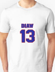 Basketball player Boris Diaw jersey 13 T-Shirt