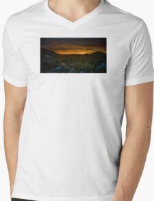 Valley of Lights Mens V-Neck T-Shirt