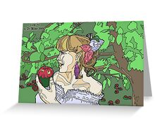 The Rogue Session - Lady Fae Greeting Card