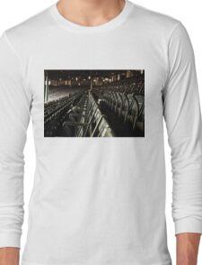 Bostons Fenway Park Baseball Vintage Seats Long Sleeve T-Shirt
