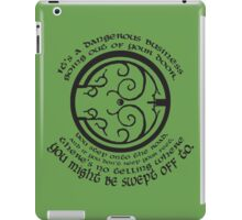 It's a Dangerous Business Going Out Your Door iPad Case/Skin