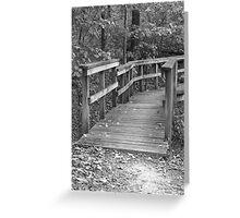 Path Less Traveled Greeting Card