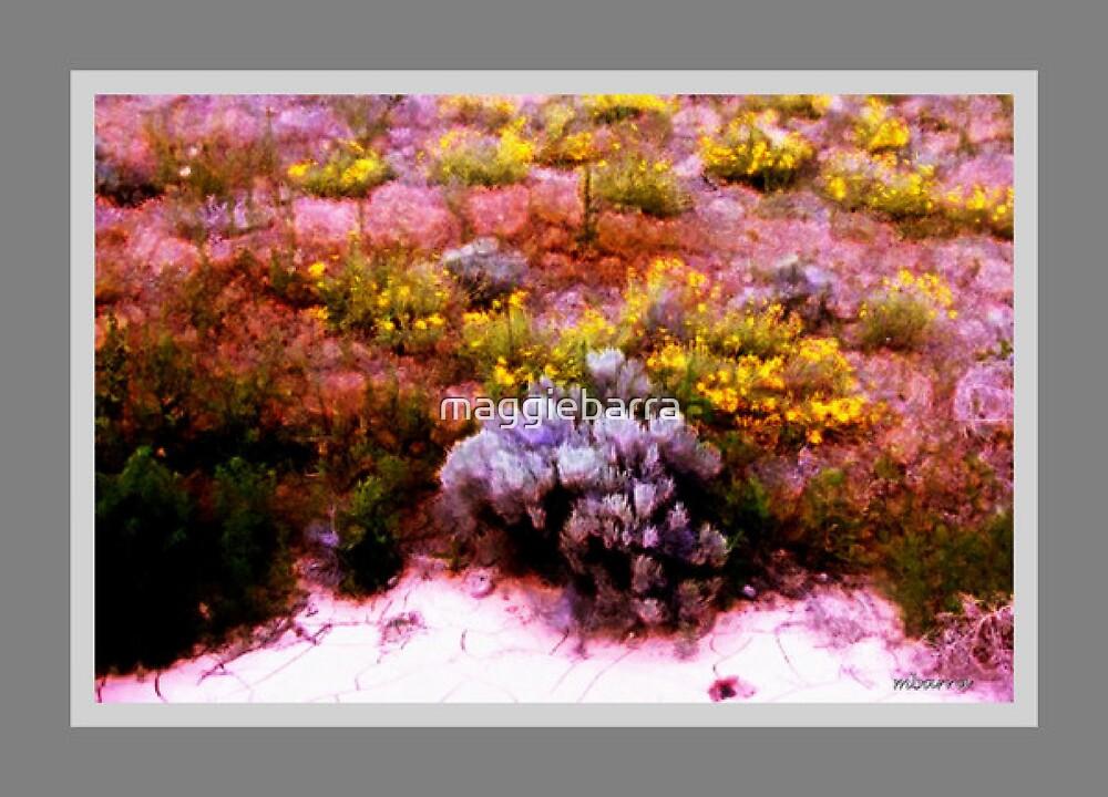 Desert Wildflowers and Sagebrush by maggiebarra