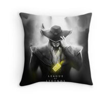 League of Legends - Twisted Fate Throw Pillow