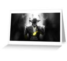League of Legends - Twisted Fate Greeting Card