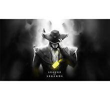 League of Legends - Twisted Fate Photographic Print
