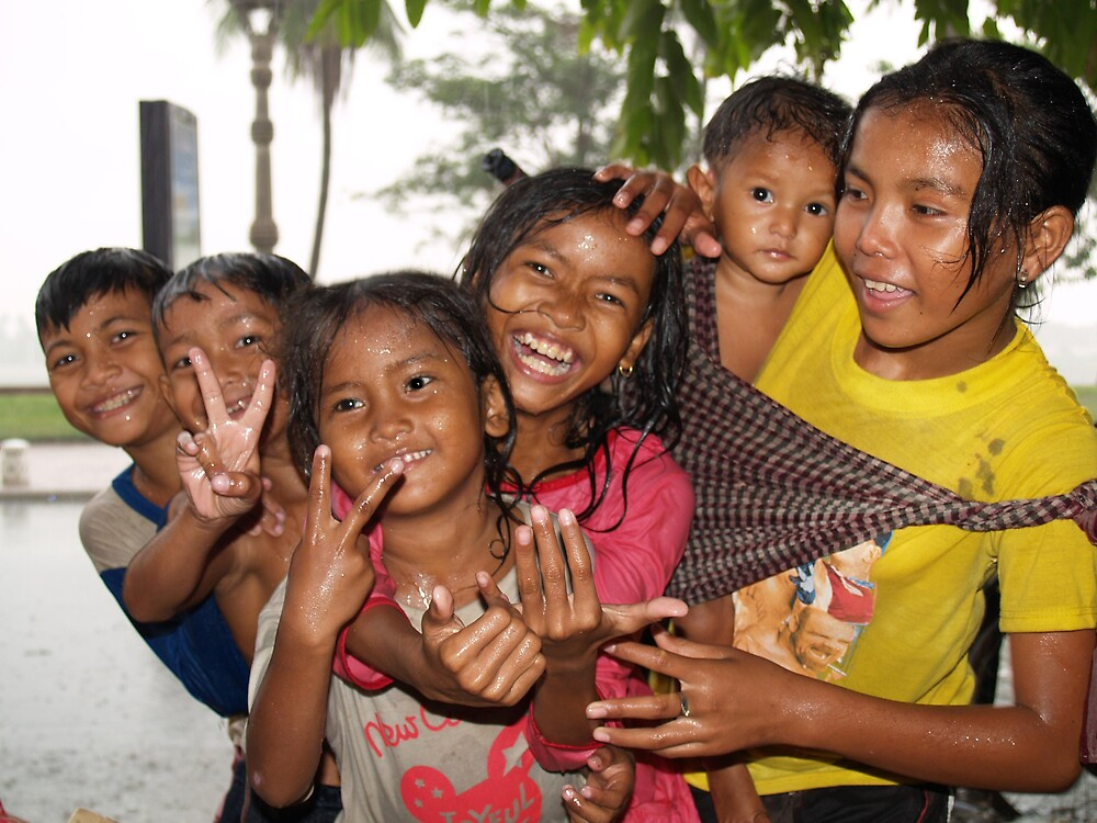 Cambodian Kids by focus