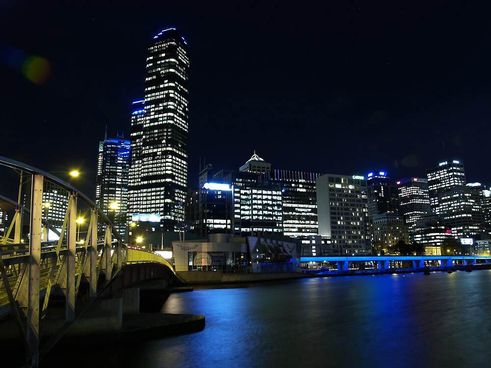 Melbourne 8pm by focus