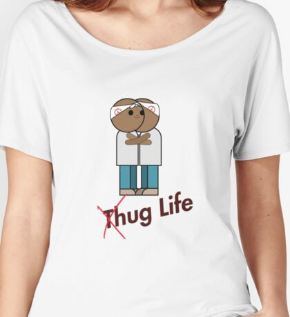 WITHOUT T-HUG Women's Relaxed Fit T-Shirt