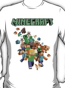 Minecraft love T-Shirt