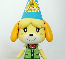Isabelle says it's party time! by FendekNaughton